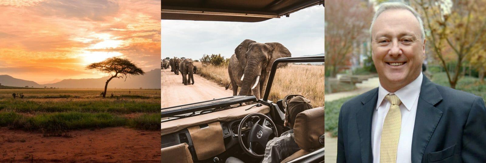 African Landscape, Safari, Mark Ponter