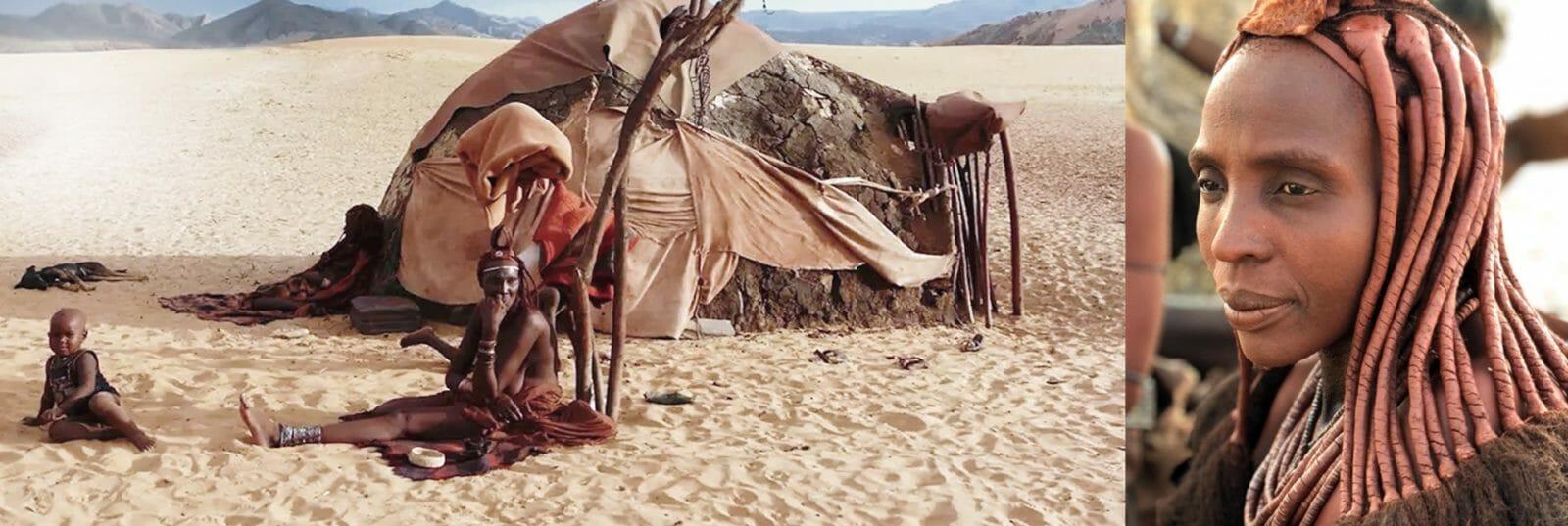 Namibia-Himba-Tribbe
