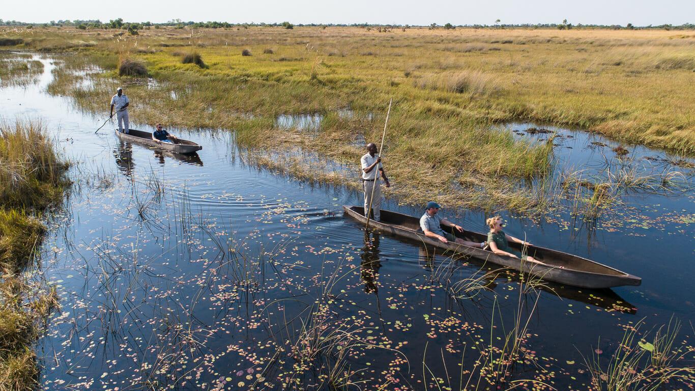'Home page image_Mokoro Okavango Delta'